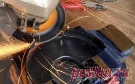 Tape shlifmashinka from UShM a simple nozzle