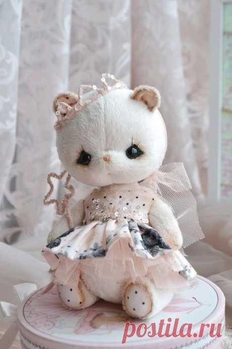 Мишка интерьерный (dolls_ponomareva) – заказать на Ярмарке Мастеров – JWL1QRU | Мишки Тедди, Белгород