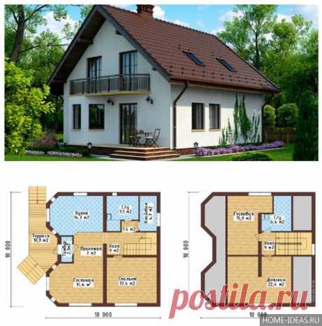 Как грамотно спланировать дом с мансардой — Мой дом