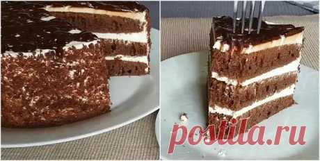 «Черный принц» — торт, который просто тает во рту. Простой и быстрый рецепт - Вкусные рецепты - медиаплатформа МирТесен