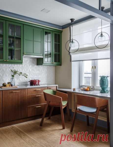 Четырехкомнатная квартира, 110 м2 Дизайн: Enjoy Home Смотреть полностью:
