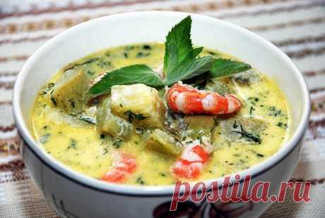 Суп с креветками рецепты приготовления