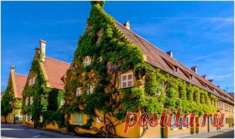 Уникальный город в Германии, где можно арендовать жилье за 1 евро в год . Тут забавно !!!