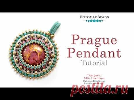 Prague Pendant - DIY Jewelry Making Tutorial by PotomacBeads