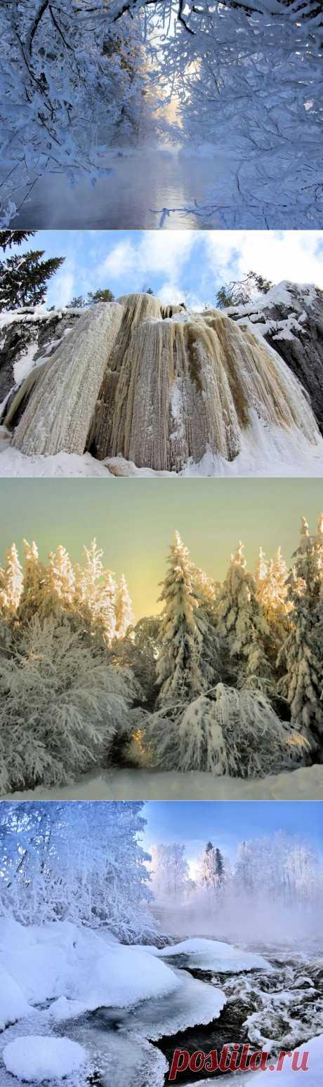 Финский фотограф Kari Liimatainen. Зима во всей красе!