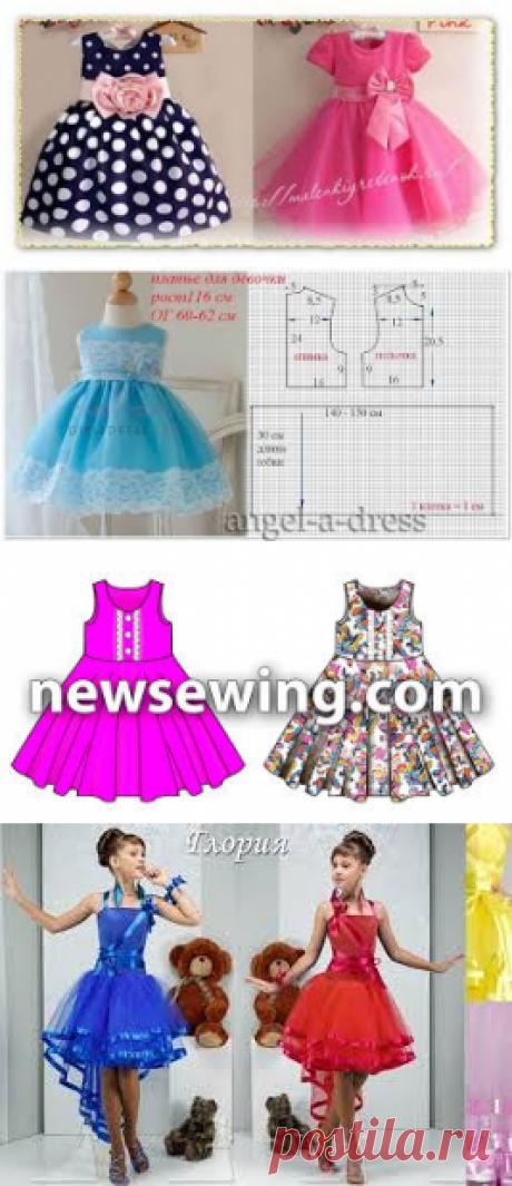 выкройки детских платьев 9лет - Поиск в Google