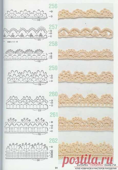 Японские схемы вязания крючком фото 2016, 20 фотографий