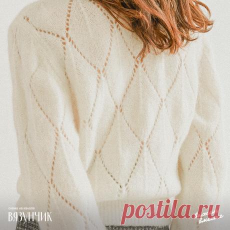 Минимализм и лаконичность в вязании: жилет, безрукавка, блузка и два джемпера из моноузоров | Вязунчик — вяжем вместе | Яндекс Дзен