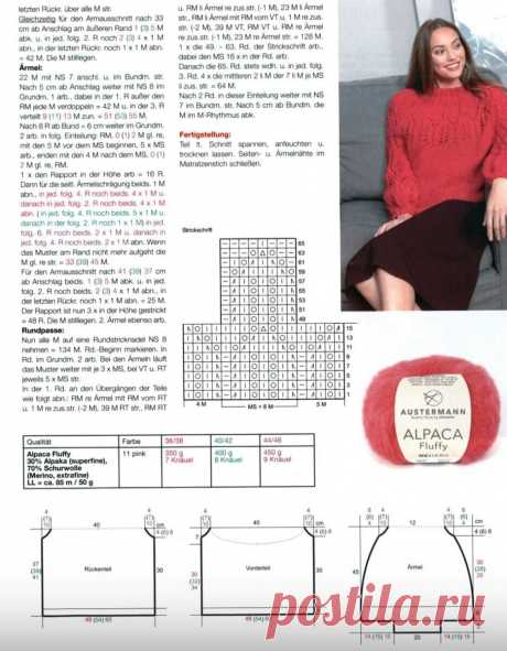 Джемперы, которые поднимают настроение, даже на пороге осени + новая идея плотного узора спицами. | Asha. Вязание и дизайн.🌶 | Яндекс Дзен