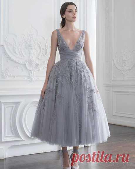 Paolo Sebastian - платье №2 Модная одежда и дизайн интерьера своими руками
