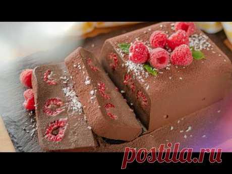 ШОКОЛАДНЫЙ ПУДИНГ МУСС | вкуснейший крем десерт без яиц и духовки | шоколадный террин