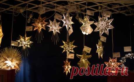 Рождественское украшение дома