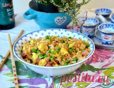 Рис по-кантонезийски – кулинарный рецепт