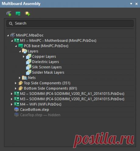 Multi-board Assembly   Altium Designer 19.0 Руководство пользователя   Документация