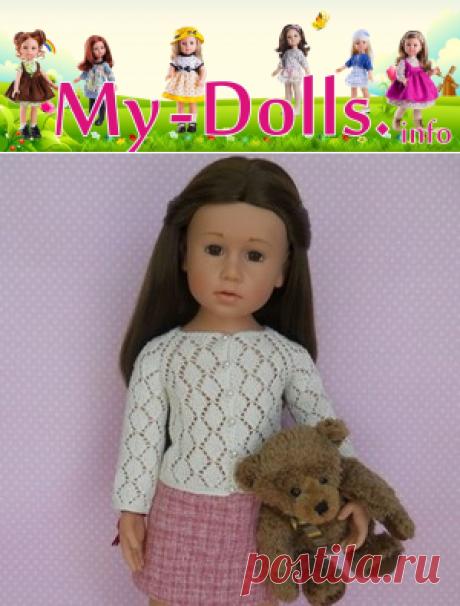 Вязание и шитьё одежды для кукол. Бесплатные мастер-классы