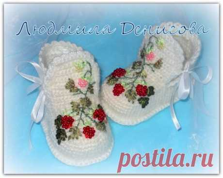 Knitted bootees or just small masterpieces   razpetelka.ru