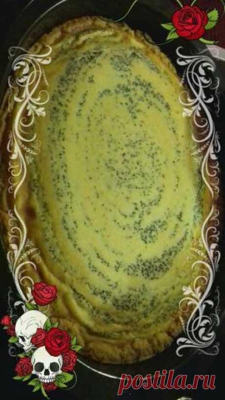 Легкий и вкусный домашний чизкейк с творогом, бананом и маком