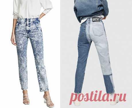 Модные джинсы весны 2019