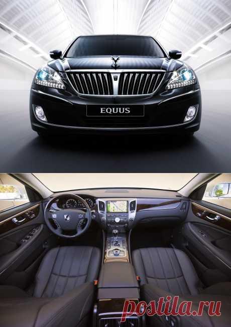 Обзор Hyundai Equus | Newpix.ru - позитивный интернет-журнал