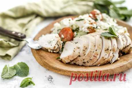 Куриные грудки по-гречески