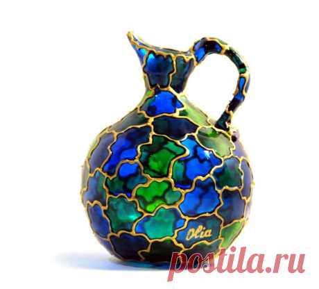 Роспись и декор ваз: 3 мастер-класса (45 фото)