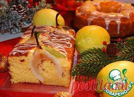 Лимонный кекс - кулинарный рецепт