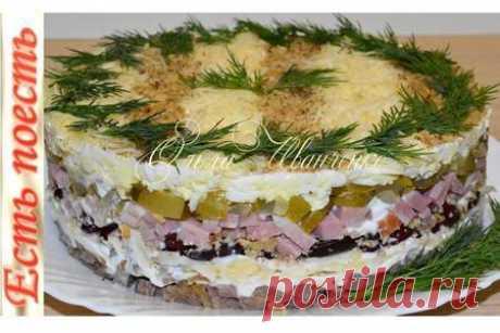 Самый мужской салат для дорогих мужчин – пошаговый рецепт с фотографиями