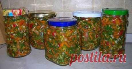 Кулинария >Отличная овощная заправка для первых блюд..