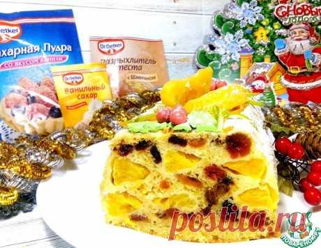 Мандариновый кекс на Рождество – кулинарный рецепт