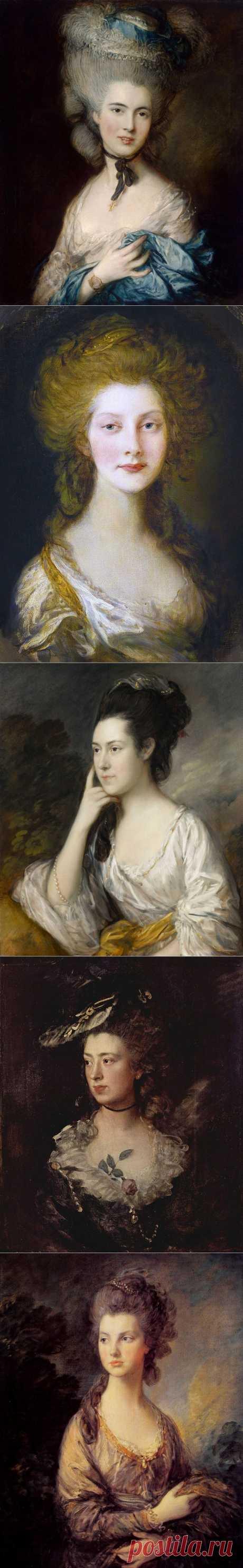 Английский живописец - Томас Гейнсборо (1727-1788)