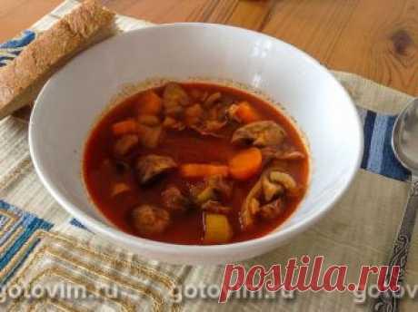 Манджа - тушеные куриные желудочки в мультиварке по-болгарски. Рецепт с фото Манджа - традиционное болгарское блюдо. Ингредиенты могут быть разные, но основа одна - густая луковая похлебка с добавлением большого количества томата. Все ингредиенты доступные, и в результате получается похлебка, которую едят из глубоких тарелок.