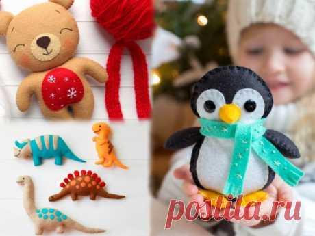 Игрушки из фетра - выкройки и шаблоны Изделия из фетра позволяют создавать самые разные игрушки и украшения для деток. Эти шаблоны игрушек под силу воплотить в жизнь даже начинающим мастерам.