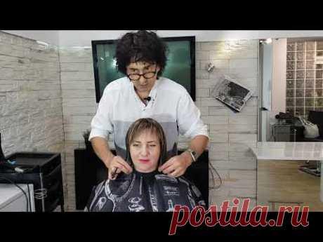 Стрижка Каре , боб каре техника. Интерпретация Bob haircut
