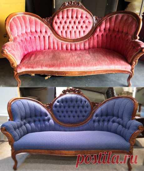 Перетяжка мягкой мебели - преимущества и недостатки обновления старой мебели (124 фото)