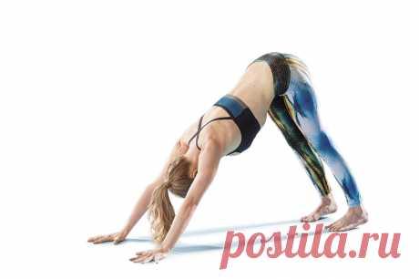 Комплекс асан для укрепления мышц спины