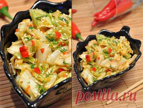 Кимчи (острая корейская капуста).. Рецепт c фото, мы подскажем, как приготовить!