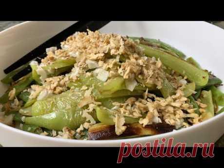 Овощной салат из баклажан. Такой вкусный, буду готовить весь сезон!