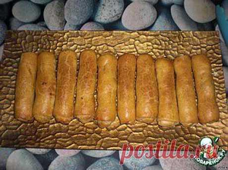"""""""Сигары""""-пирожки с капустой - кулинарный рецепт"""