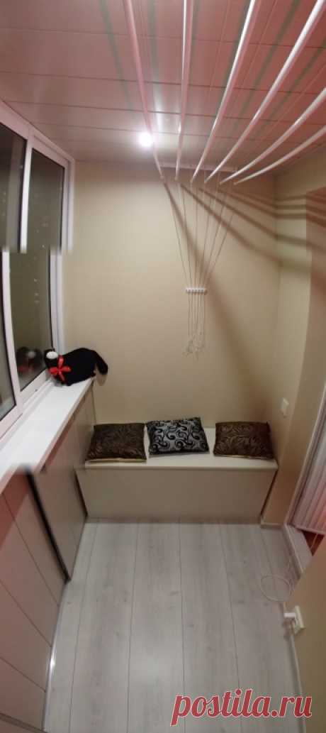 Сделай СТИЛЬНЫЙ и ФУНКЦИОНАЛЬНЫЙ балкон – В Курсе Жизни