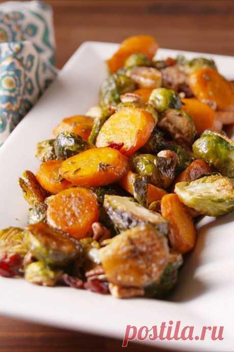 👌 Запечённые овощи в духовке за 30 минут, рецепты с фото