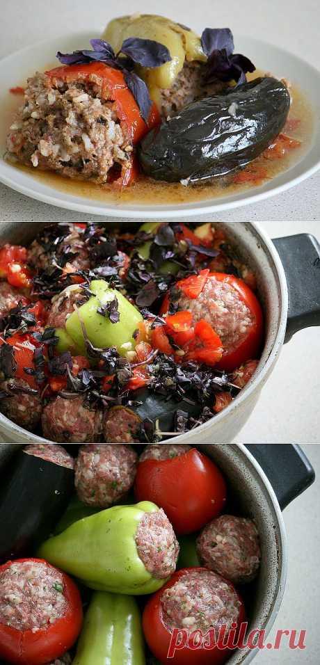 Толма летняя. Вкусная летняя еда! Наполните свой дом запахами восточной кухни!