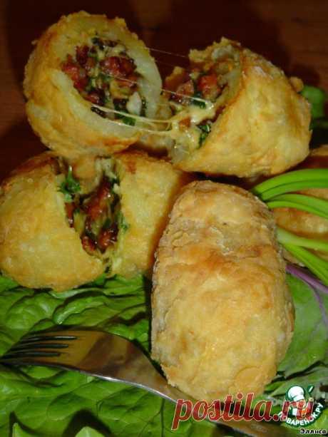 Картофель с начинкой - кулинарный рецепт