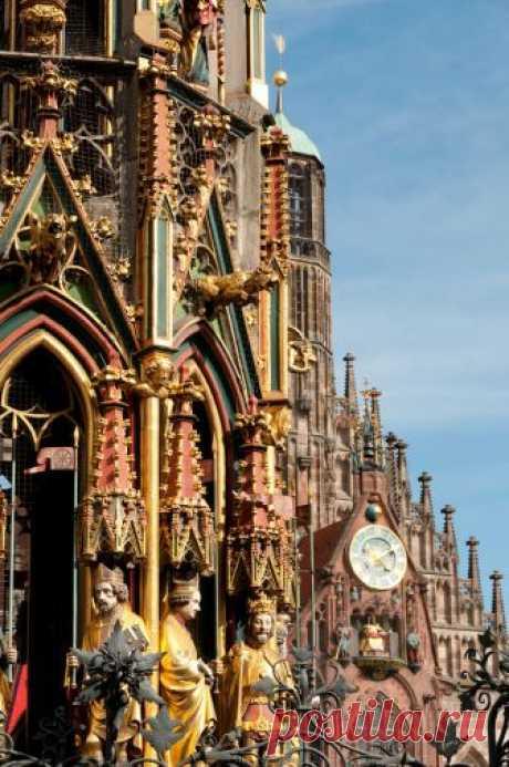 riccardo • Frauenkirche (Church of Our Lady), Nuremberg,...
