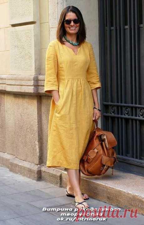 Платье всегда в моде! Идеи и выкройки для шитья — HandMade