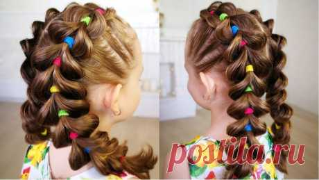 «Bright braids! Hairstyle for girl. - Яркие косы для - All vi» — карточка пользователя Gosha090182 в Яндекс.Коллекциях