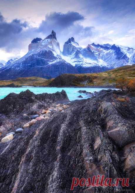 nicesight Torres Del Paine National Park, Chile 🇨🇱 Wonderful Place 🏞 Photo by olegrest