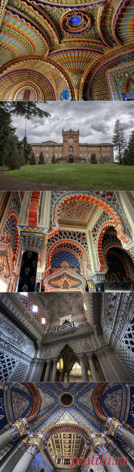Замок Саммеццано-забытый шедевр архитектуры | В мире интересного
