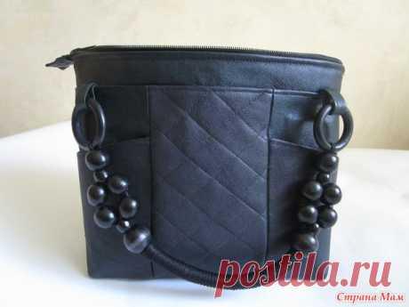 Зеленая сумочка из кожи - Сумки &Co - Страна Мам
