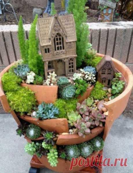 Garden pot decoration - Google Search