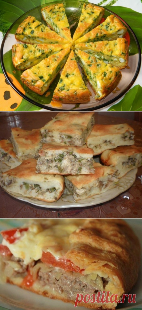 9быстрых исытных пирогов наужин